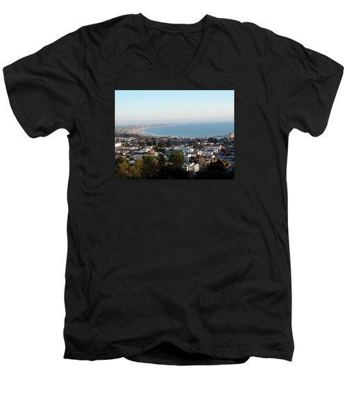 Ventura Coastline Men's V-Neck T-Shirt