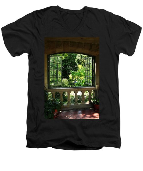 Veranda View Men's V-Neck T-Shirt
