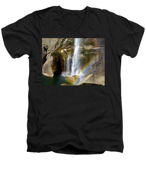 Vernal Falls Mist Trail Men's V-Neck T-Shirt