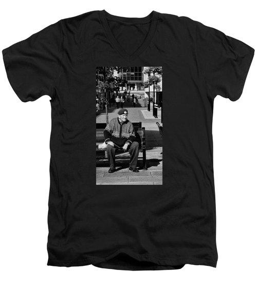 Veteran Men's V-Neck T-Shirt