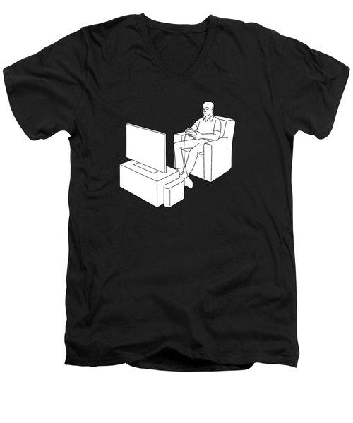 Video Gamer Tee Men's V-Neck T-Shirt