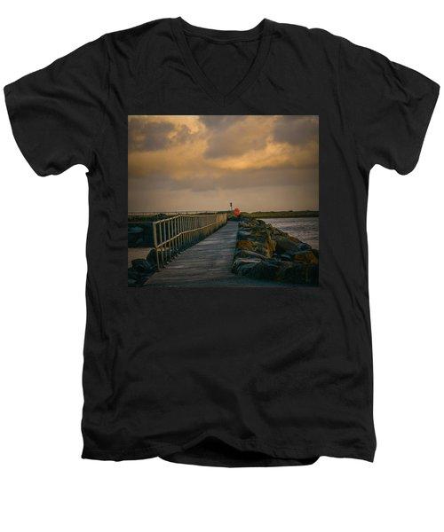 View At Staffin 1 #g9 Men's V-Neck T-Shirt