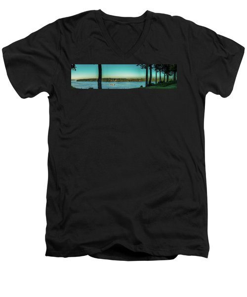 View From 11th Ave. Men's V-Neck T-Shirt