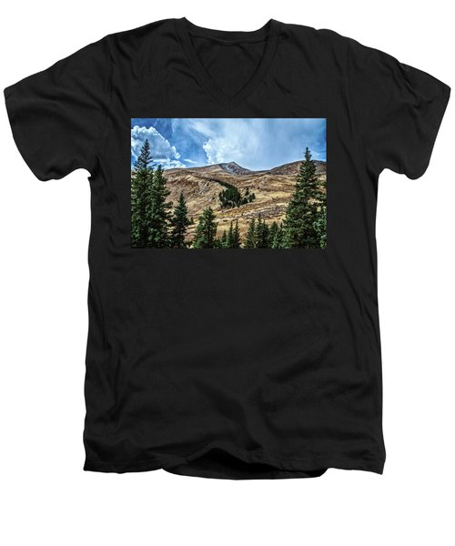 View From Guanella Pass Road Men's V-Neck T-Shirt