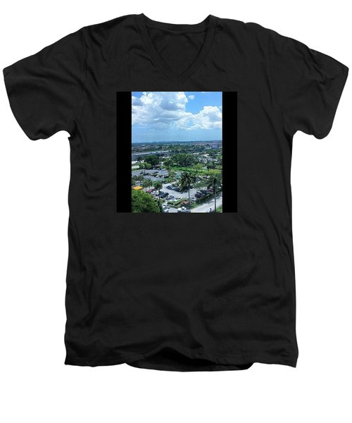 City On The Horizon Men's V-Neck T-Shirt