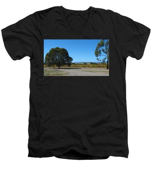 Vineyard Trees Men's V-Neck T-Shirt