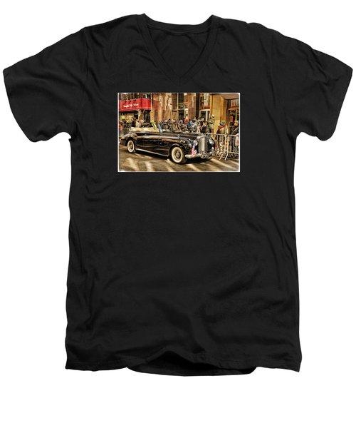 Vintage Bentley Convertible Men's V-Neck T-Shirt