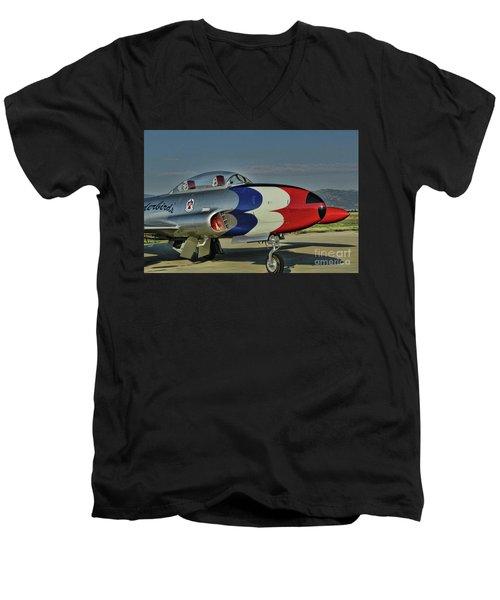 Vintage Thunderbird Men's V-Neck T-Shirt