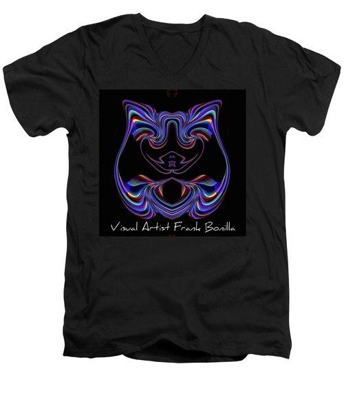 Visual Artist Frank Bonilla Logo Men's V-Neck T-Shirt