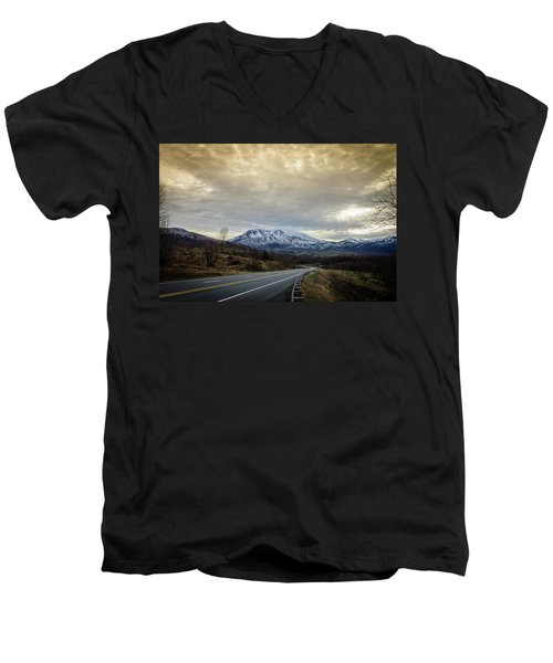 Volcanic Road Men's V-Neck T-Shirt