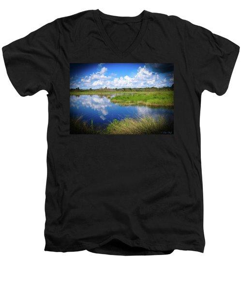 Wading Bird Way Men's V-Neck T-Shirt