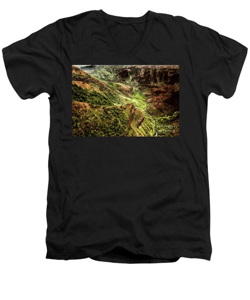 Waimea Canyon Men's V-Neck T-Shirt
