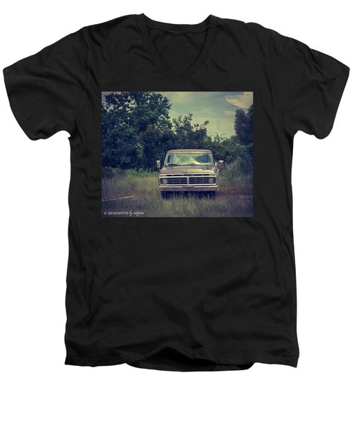 Waiting To Die Men's V-Neck T-Shirt by Stefanie Silva