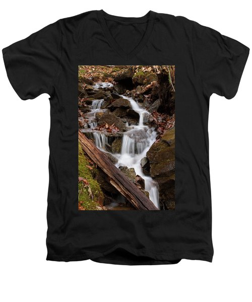 Walden Creek Cascade Men's V-Neck T-Shirt