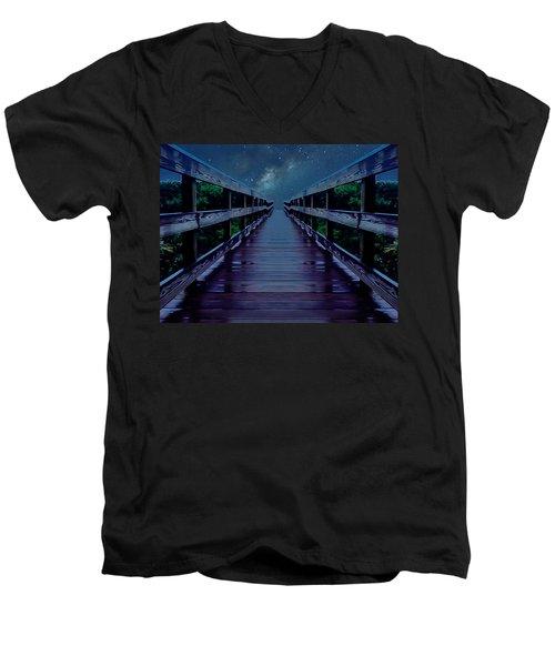 Walk Into The Dream Men's V-Neck T-Shirt