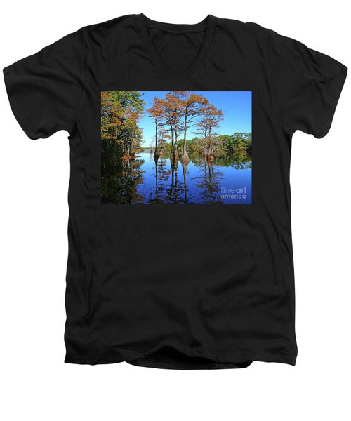 Walkers Mill Pond Men's V-Neck T-Shirt