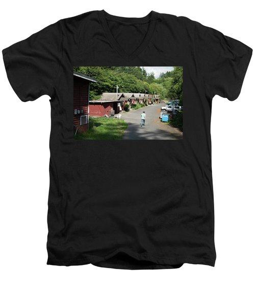 Walking Home Men's V-Neck T-Shirt