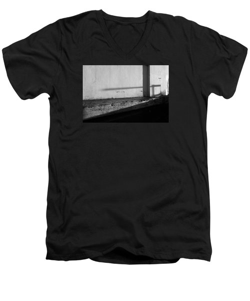Wall And Shows 1 Men's V-Neck T-Shirt by Catherine Lau