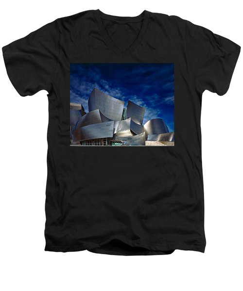 Walt Disney Concert Hall Men's V-Neck T-Shirt