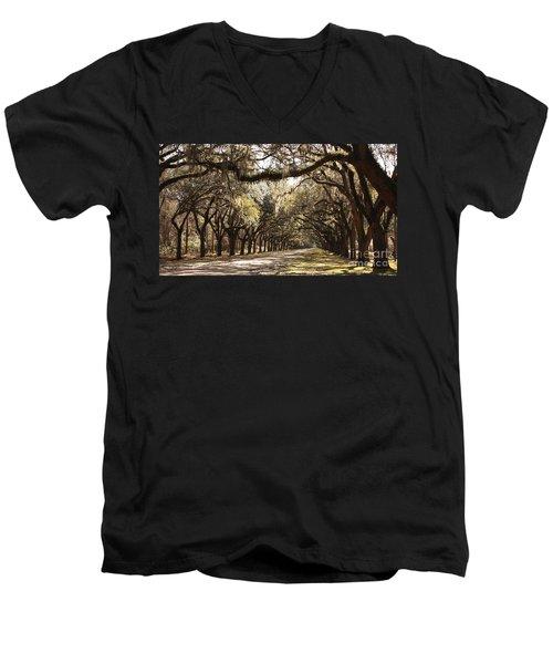 Warm Southern Hospitality Men's V-Neck T-Shirt