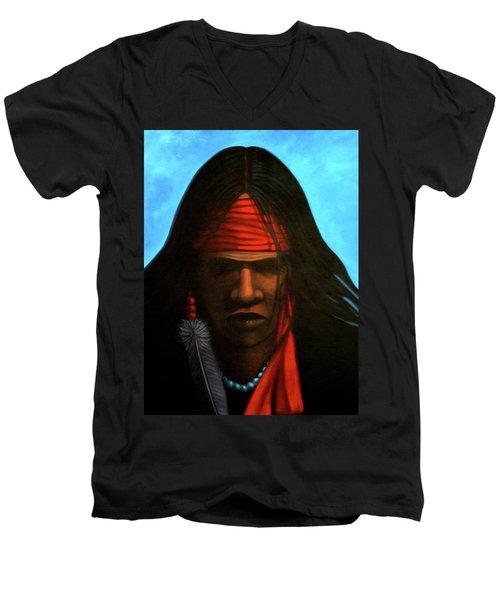 Warrior Men's V-Neck T-Shirt
