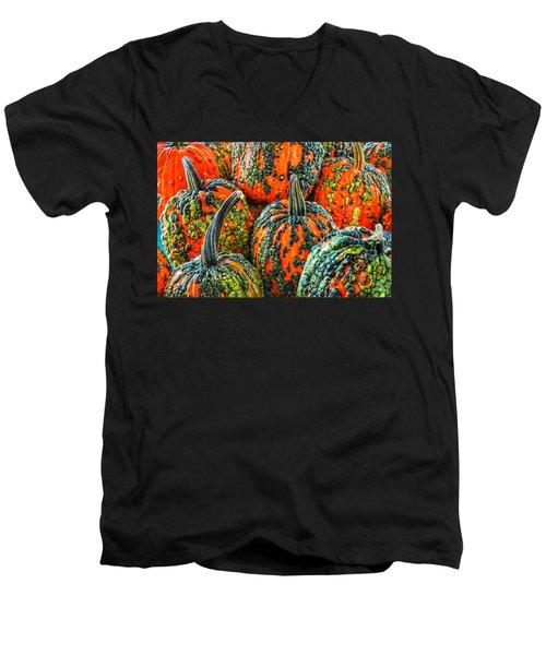 Warty Pumkins  Men's V-Neck T-Shirt