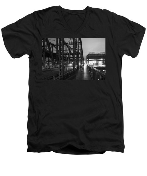 Washington Street Bridge Men's V-Neck T-Shirt