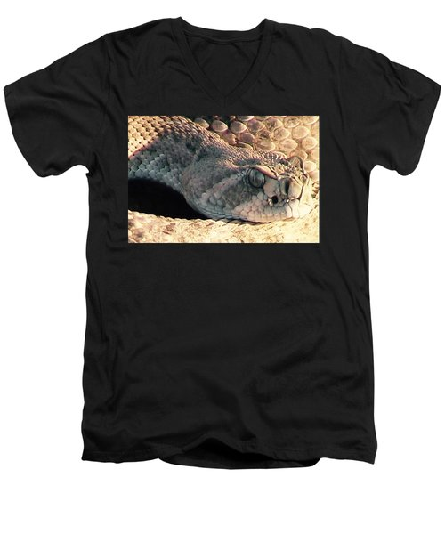Watch Out Men's V-Neck T-Shirt