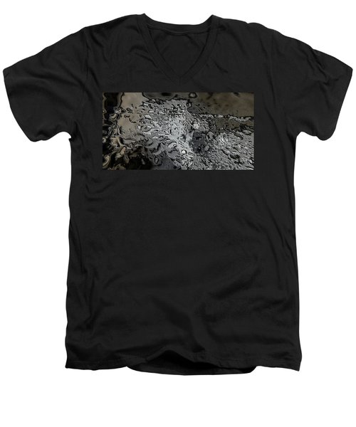 Water Abstract 7 Men's V-Neck T-Shirt