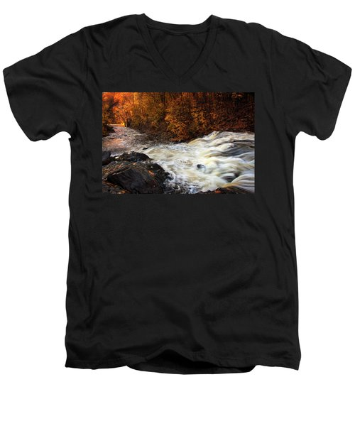 Water Dances Men's V-Neck T-Shirt