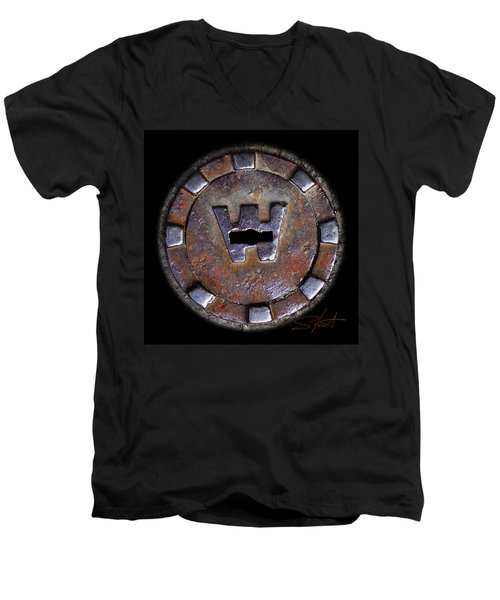 Water Hole 3 Men's V-Neck T-Shirt