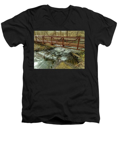 Water Under The Bridge Men's V-Neck T-Shirt