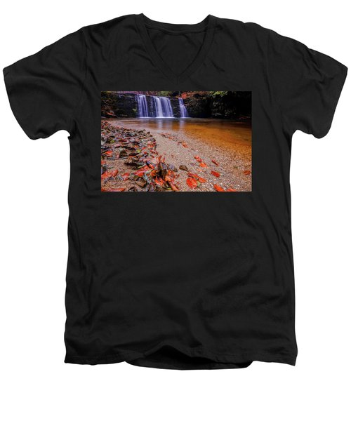 Waterfall-8 Men's V-Neck T-Shirt