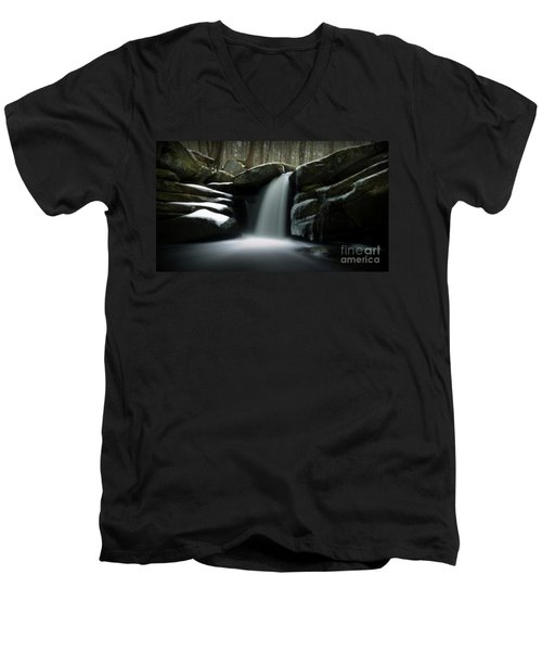 Waterfall From A Dream Men's V-Neck T-Shirt