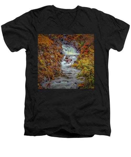 Waterfall #g8 Men's V-Neck T-Shirt
