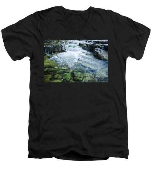 Waterfall Wonderland Men's V-Neck T-Shirt