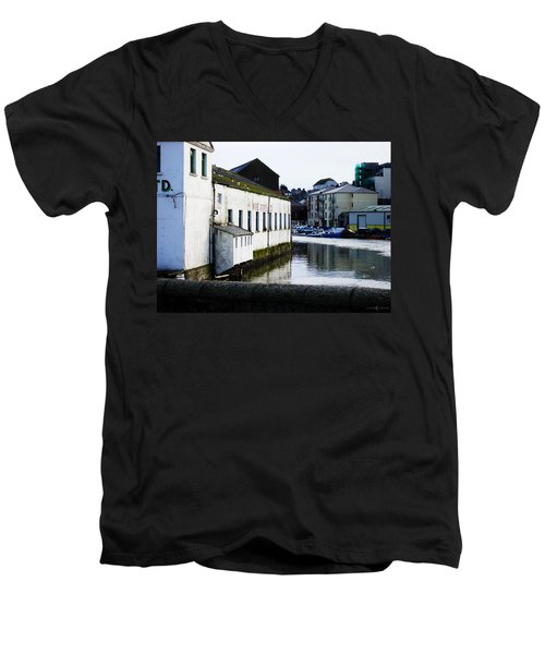 Waterfront Factory Men's V-Neck T-Shirt