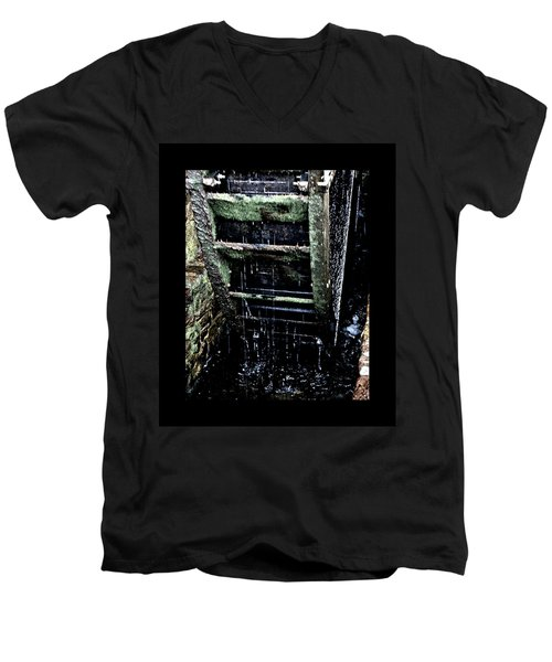 Waterwheel 1 Men's V-Neck T-Shirt