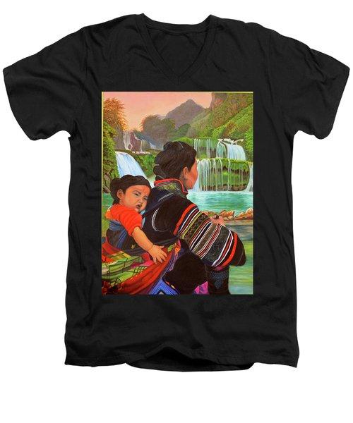 Waterworld Men's V-Neck T-Shirt