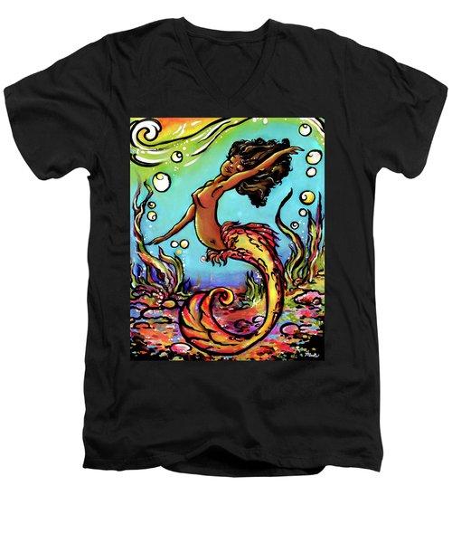 Wave Dancer  Men's V-Neck T-Shirt