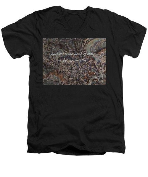 Waves Of Change Men's V-Neck T-Shirt