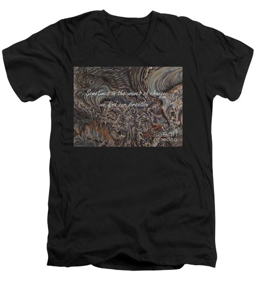 Waves Of Change Men's V-Neck T-Shirt