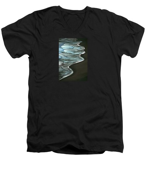 Waves Of The Future Men's V-Neck T-Shirt
