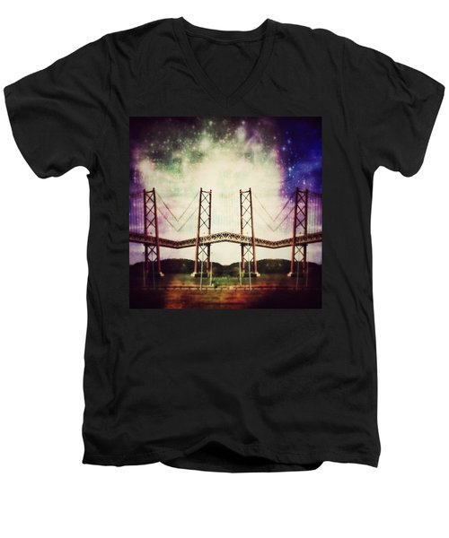 Way To The Stars Men's V-Neck T-Shirt