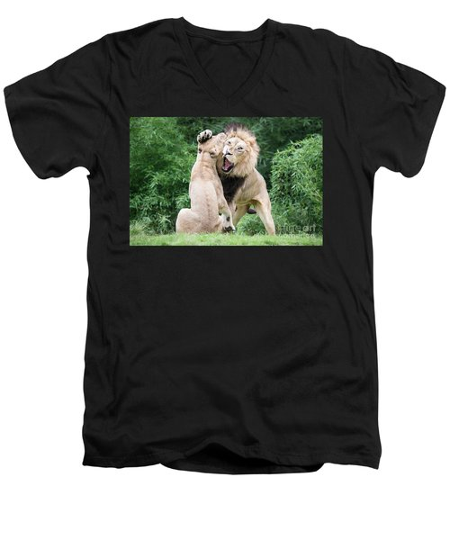 We Are Only Playing Men's V-Neck T-Shirt