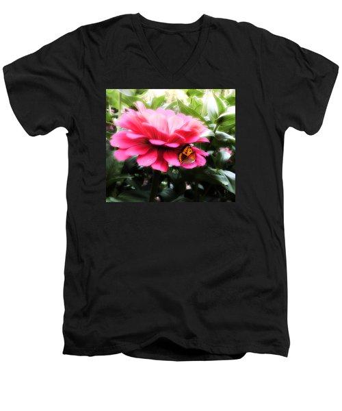 We Belong Together Men's V-Neck T-Shirt