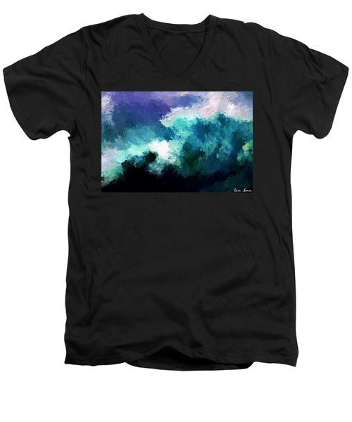 Weathering The Storm Men's V-Neck T-Shirt