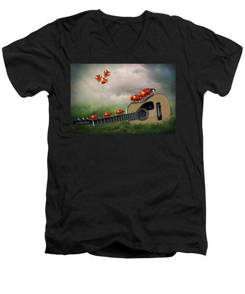 Week-end Bugs Men's V-Neck T-Shirt