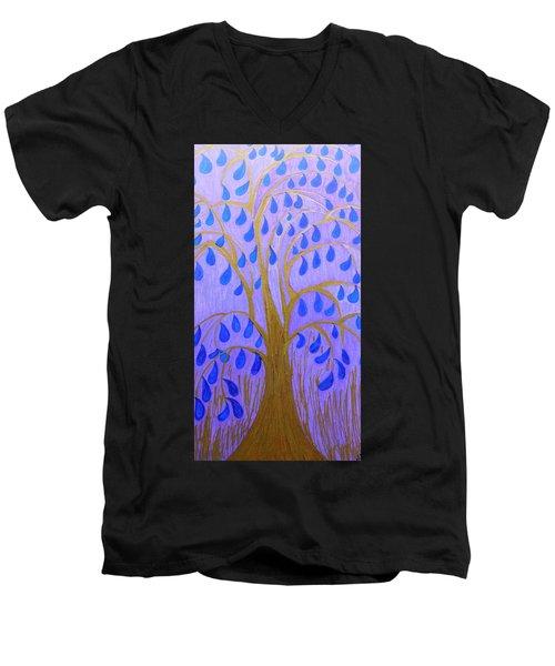 Weeping Tree Men's V-Neck T-Shirt