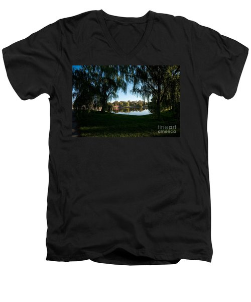 Weeping Willows Men's V-Neck T-Shirt